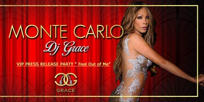 Dj Grace-VIP PRESS Release Party-Monte Carlo