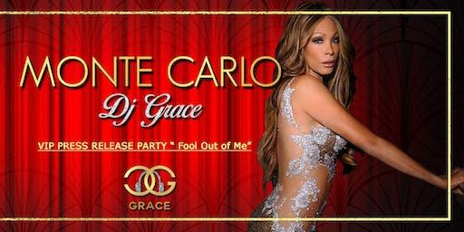 Dj Grace-VIP PRESS Release Party-Monte Carlo