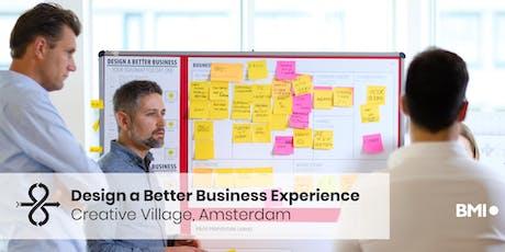 Design a Better Business Experience - Amsterdam - June 2020 tickets
