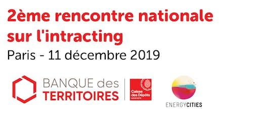 2ème rencontre nationale sur l'intracting - Paris - 11 décembre 2019