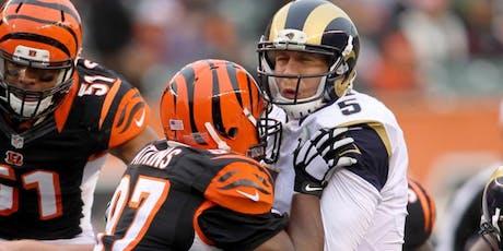 NFL Fanpark: Cincinnati Bengals V LA Rams tickets