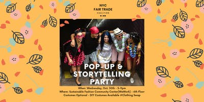 The Sustainable Fashion Community Meeting: Pop-Up & Storytelling Party