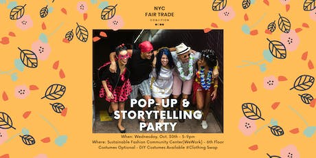 The Sustainable Fashion Community Meeting: Pop-Up & Storytelling Party tickets