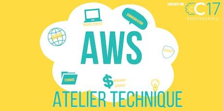 AWS : Apprenez à déployer vos premières applications sur le Cloud N°1 billets