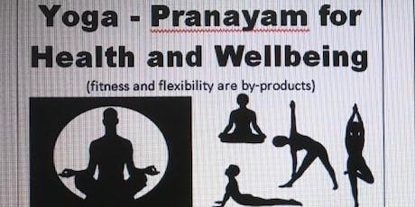 Yoga - Pranayam tickets
