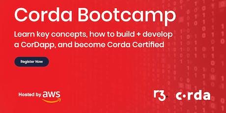 Corda Blockchain Bootcamp - Boston tickets