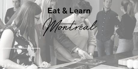 Nouveautés de nos partenaires House Of Rohl & Interbois | Eat & Learn tickets