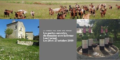 REPAS PORTES-OUVERTES FRONSAC - FERME LOU CORNAL billets