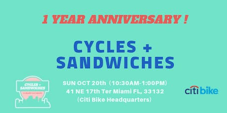 Cycles + Sandwiches tickets
