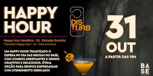 Disturb Boo - Happy Hour especial de Halloween - Hotel Pullman Guarulhos
