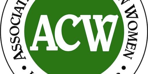 ACW October Meeting-