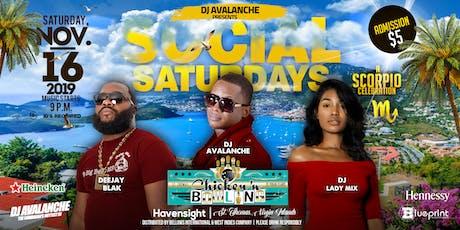 Social Saturdays I A Scorpio Celebration tickets