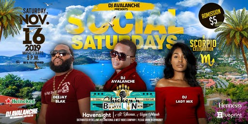 Social Saturdays I A Scorpio Celebration