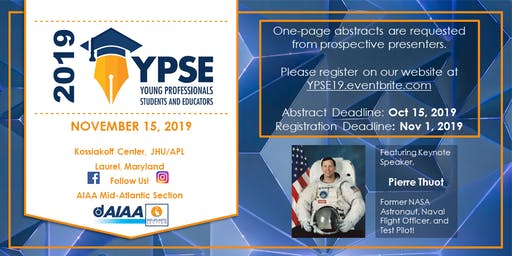 Young Professionals, Students, and Educators Conference 2019