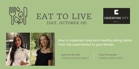 Eat to Live tickets