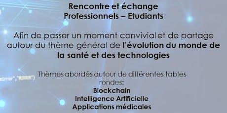 L'évolution du monde de la santé et des technologies. billets
