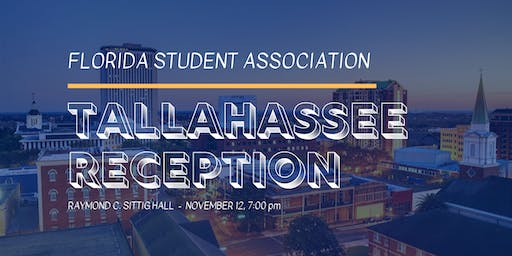 Florida Student Association Reception