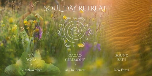 Soul Day - Yin Yoga, Cacao Ceremony and Sound Bath