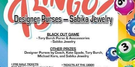 Santa Pal Designer Purse and Sabika Jewelry Bingo Fundraiser tickets