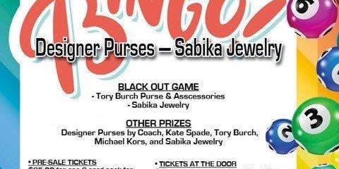 Santa Pal Designer Purse and Sabika Jewelry Bingo Fundraiser
