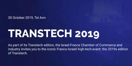 TRANSTECH ISRAEL 2019 Tickets