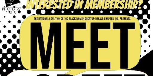 NCBW Decatur-DeKalb Chapter, Inc. Pop Up Meet & Greet