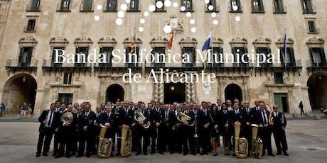 CONCIERTO Banda Sinfónica Municipal de Alicante (CULTURA EN BARRIOS) entradas