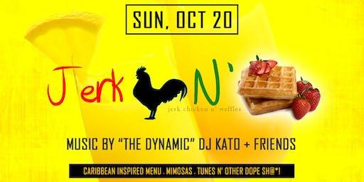 Jerk Chicken N' Waffles Brunch: October 2019