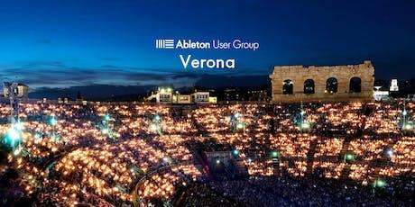 Ableton User Group Verona - Meetup #9 • TOBI HUNKE (abletonlivedrummer.com) biglietti