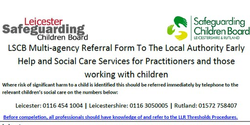 Working Together to Achieve an Effective Referral - Beaumanor Hall