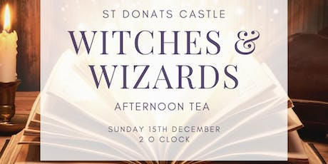 Christmas at the Castle - Witches and Wizards Afternoon Tea tickets