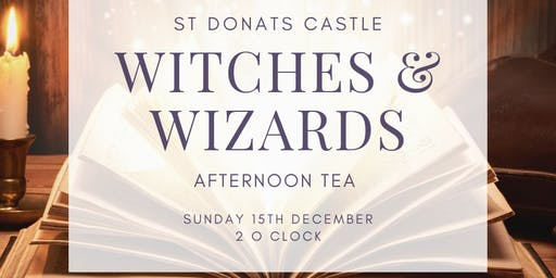 Christmas at the Castle - Witches and Wizards Afternoon Tea