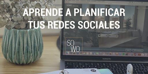 Aprender a planificar tus REDES SOCIALES