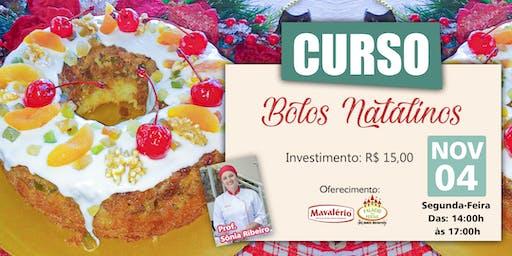 CURSO BOLOS NATALINOS