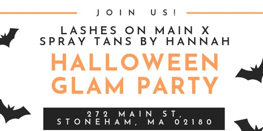 Lashes On Main Halloween Glam Party