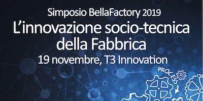 Simposio BellaFactory 2019 - 19 novembre 2019
