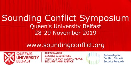 Sounding Conflict Symposium (day one) tickets