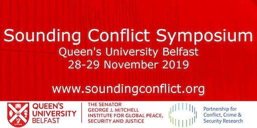 Sounding Conflict Symposium (day one)