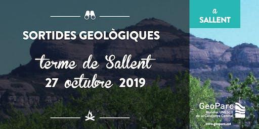 Sortida Geològica pel terme de Sallent