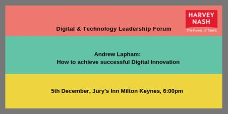 Milton Keynes IT Leadership Forum tickets