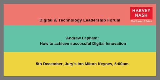 Milton Keynes IT Leadership Forum