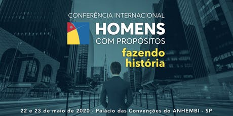 Conferência Homens com Propósitos 2020 ingressos