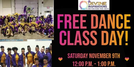 Free Dance Class Day! - Divine Inspirations Center for the Arts
