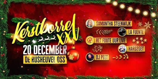 Kerstborrel XXL