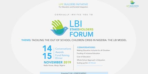 Life Builders Initiative Stakeholders Forum