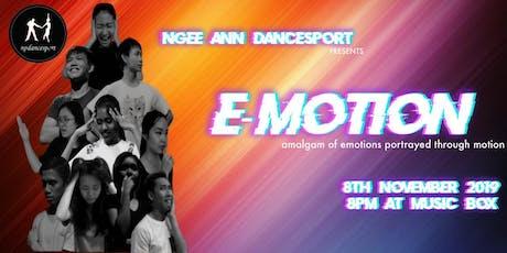 E-MOTION tickets