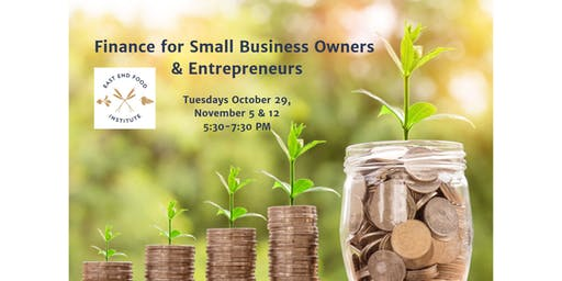 Finance for Small Business Owners & Entrepreneurs