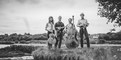 A Backstage Show with Foghorn Stringband