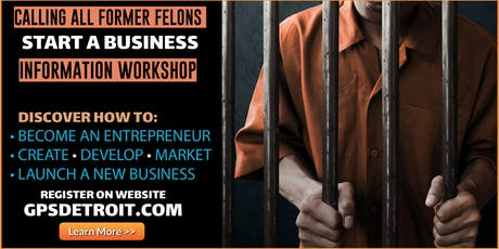 From Prisoner to Business Owners: Business Startup Workshop tickets