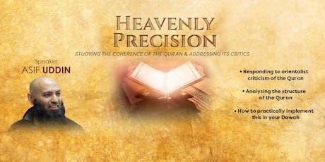 Heavenly Precision w/ Asif Uddin [Specialist Series] tickets